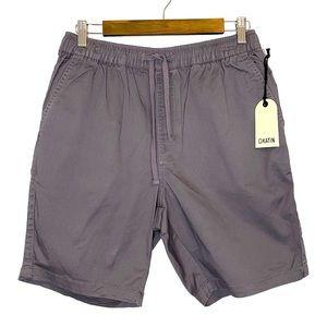 Katin Men's Grey Blue Drawstring Shorts Medium